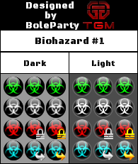 Forum Icon Sprite - Biohazard Pack