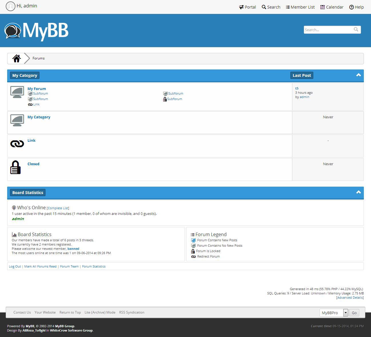 MybbPro Teması Ücretsiz