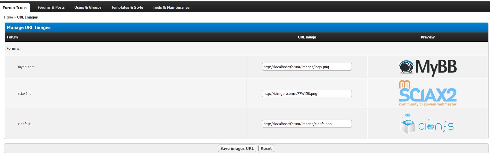 Extend MyBB - Forum Icons