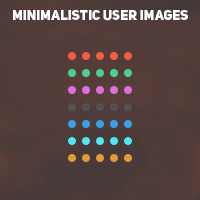Minimalistic User Images
